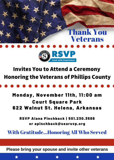 Honoring the Veterans of Phillips County